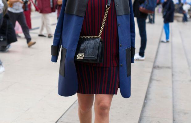 Footwear News' Mosha Lundstrom Halbert. Photo: Emily Malan/Fashionista