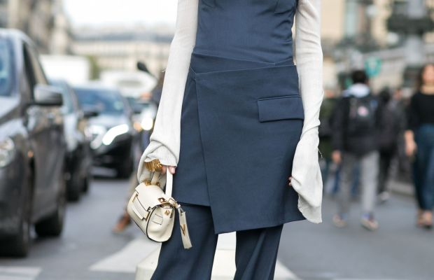 Blogger Eleanora Carisi in Stella McCartney. Photo: Imaxtree
