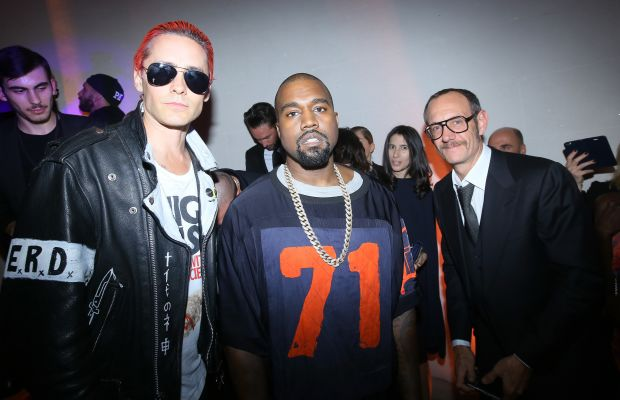 West at Vogue Paris's 95th anniversary party. Photo: Victor Boyko/Getty Images