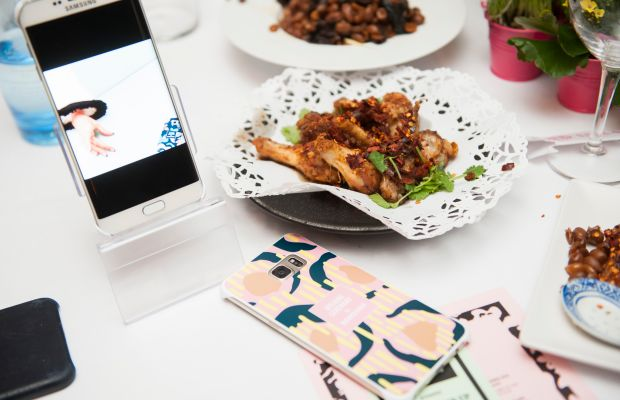 At L'Atelier des Artistes restaurant. Photo: Courtesy of Greg Kessler/Kessler Studio