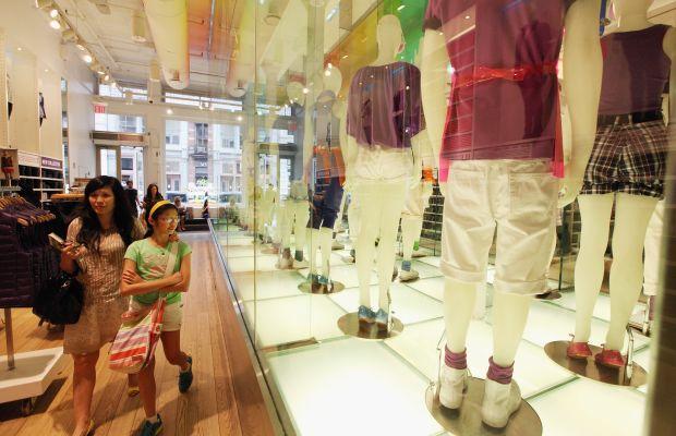 A Uniqlo store in New York. Photo: Mario Tama/Getty Images