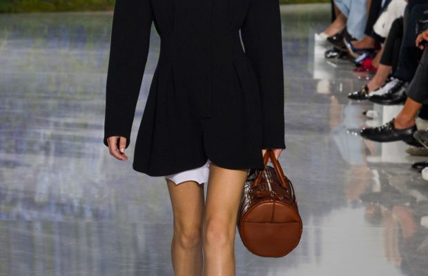 A look from Dior's spring 2016 collection. Photo: Imaxtree