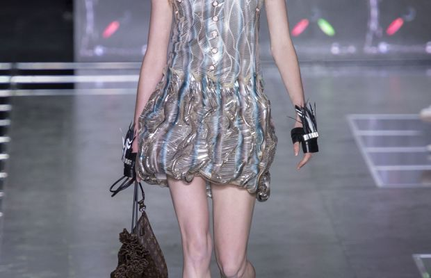 A look from Louis Vuitton's spring 2016 collection. Photo: Imaxtree