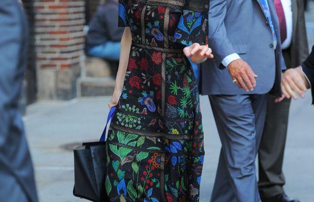 Cate Blanchett in Valentino in New York City. Photo: Josiah Kamau/BuzzFoto via Getty Images