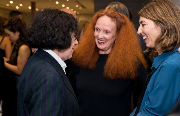 Fran Lebowitz, Grace Coddington, Sofia Coppola. Photo: Jenny Anderson/WireImage
