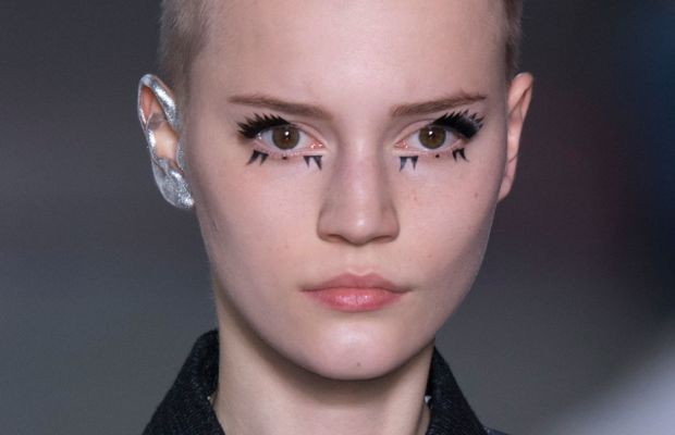 The look at Louis Vuitton. Photo: Imaxtree