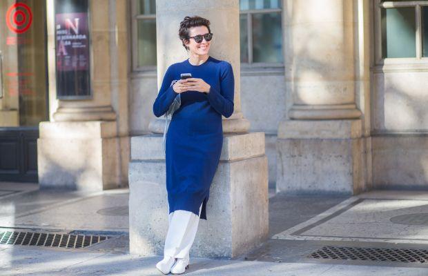 Garance Doré takes a Twitter break during Paris Fashion Week. Photo: Christian Vierig/Getty
