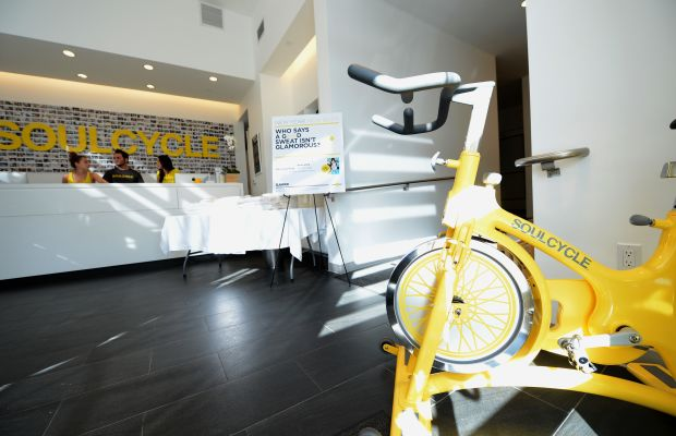 SoulCycle in West Hollywood, California. Photo: Michael Buckner/Getty Images