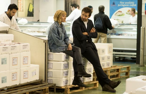 Sienna Miller as Helene, who looks very Sienna Miller, and Bradley Cooper as Adam Jones in 'Burnt.' Photo: Weinstein Company
