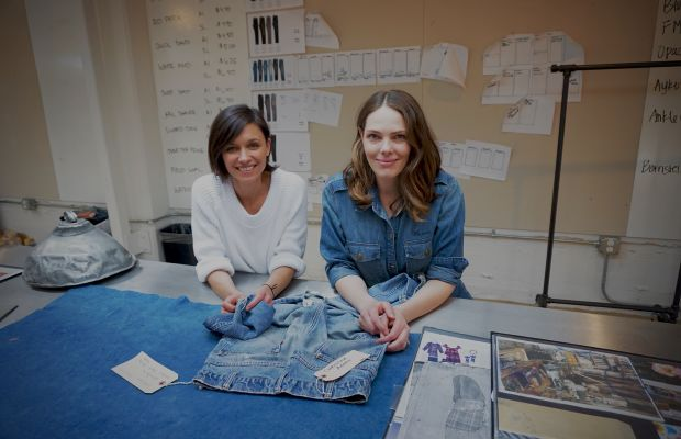 Jane Bishop and Florence Kane at the Levi's Eureka InnovationLabinSanFrancisco. Photo: Levi's