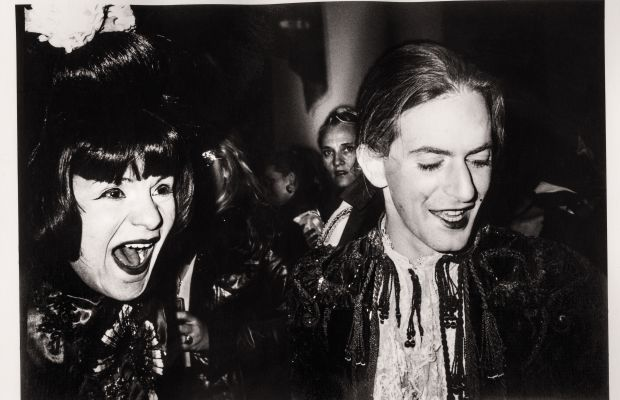 Supper Club Halloween, New York City, 1997: Candy Pratts Price and Marc Jacobs. Photo: Kelly Klein