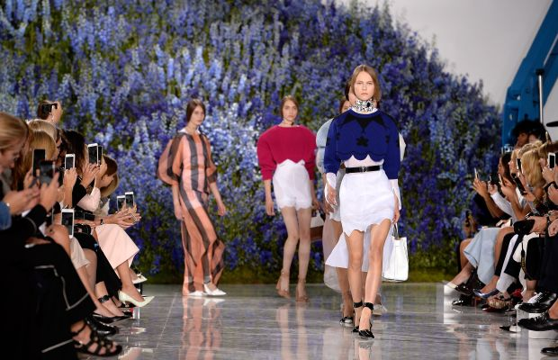 Dior's spring 2016 runway show. Photo: Rindoff/Le Segretain/Getty Images for Dior
