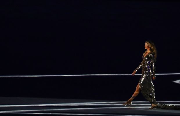 Giseleat the Opening Ceremony for the 2016 Olympic Games. Photo: Dean Mouhtaropoulos/Getty Images