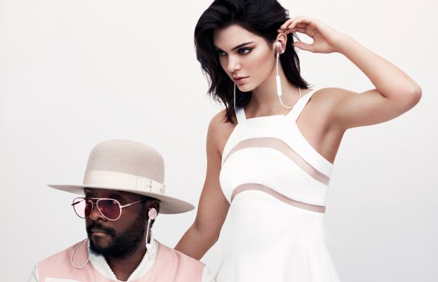 Will.i.am and Kendall Jenner for I.am+ Buttons. Photo: I.am+