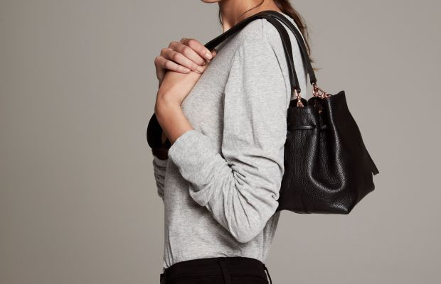 A look from the Laura Brown x Mon Purse capsule collection. Photo: courtesy
