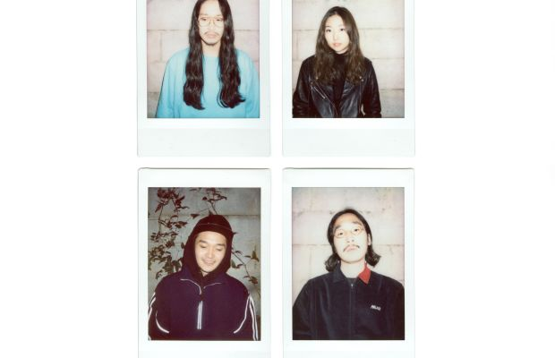 Clockwise from top left: Fig Collective's Yongjae Kim, Janne Chung, Sungjune Jang and Seungbum Hong. Photo: Fig Collective