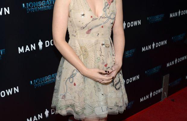 "Kate Mara at the ""Man Down"" premiere in Los Angeles. Photo: Matt Winkelmeyer/Getty Images"