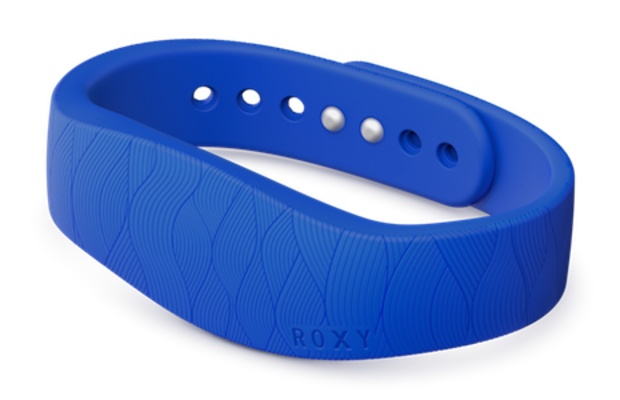 Sony Smartband collaboration with Roxy. Photo: Sony