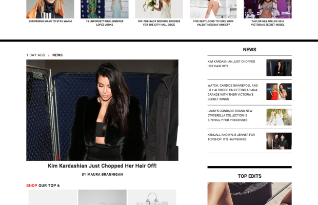 The front page of Luckyshops.com. Screenshot: Luckyshops.com