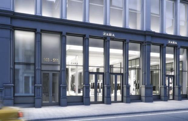 A sketch of the future SoHo Zara flagship location. Photo: Inditex