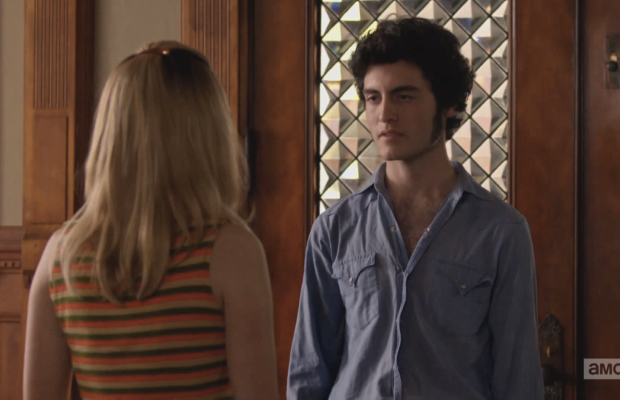 """I'm kind of into you, but I'm super into your mom, you know?"" Screengrab: AMC"