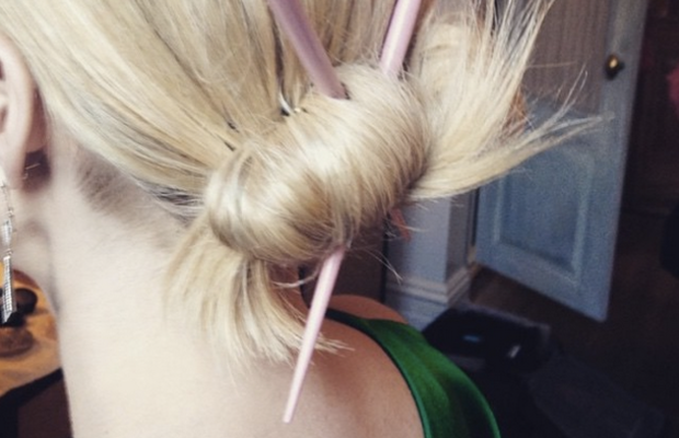Screengrab from Emma Roberts' Instagram, which she has since deleted.