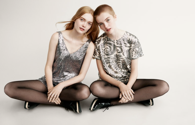 Ruth and May Bell in Forever21's holiday campaign. Photo: Forever21