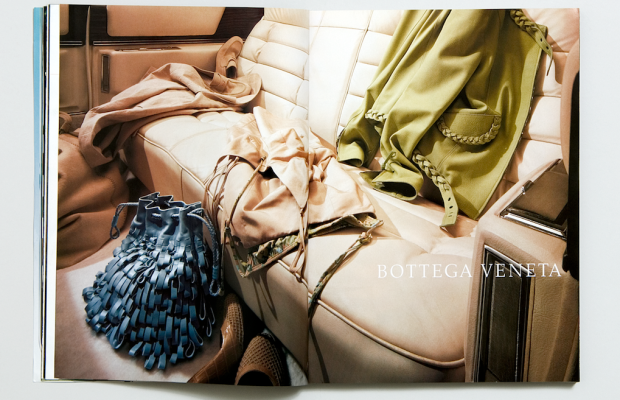 Bottega Veneta advertising campaign. Photo: Li, Inc.