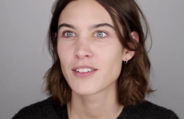 "This is Alexa Chung looking ""horrible."" Screengrab: YouTube"