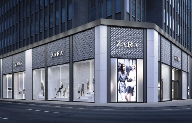 A new Zara flagship in New York's financial district. Photo: Inditex