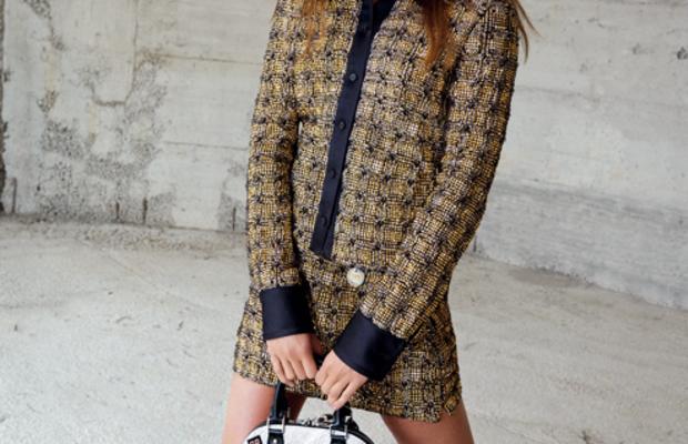 Alicia Vikander in Louis Vuitton's fall 2015 campaign. Photo: Louis Vuitton/Facebook