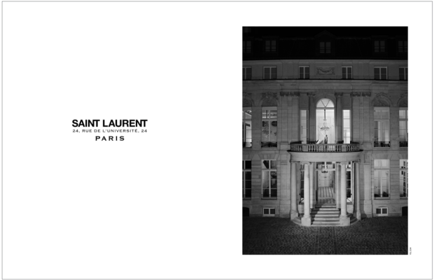Saint Laurent's two couture ateliers are located at the recently renovated Hôtel de Sénecterre in Paris. Photo: Saint Laurent