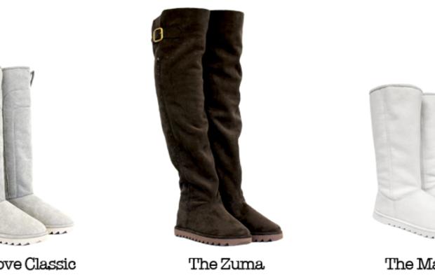 Pammies boot styles. Screengrab:PammiesLife.com