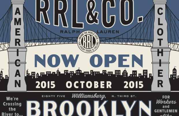 Ralph Lauren is heading to Brooklyn. Image: Ralph Lauren