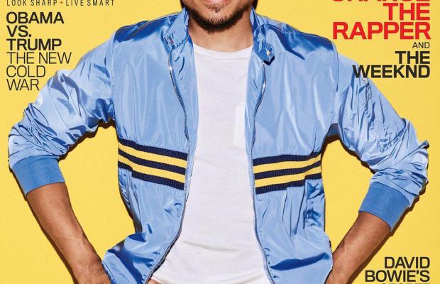 "Chance the Rapper on""GQ."". Photo: Eric Ray Davidson"