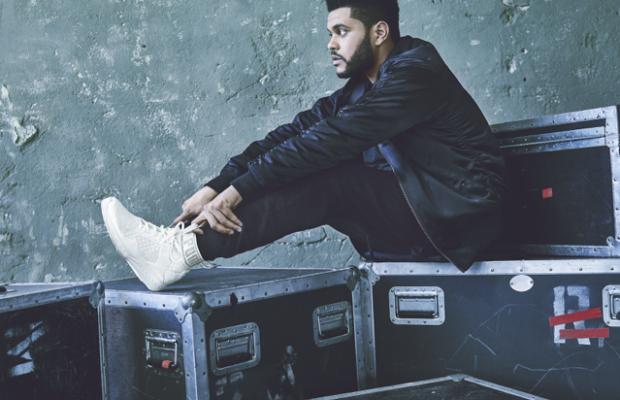The Weeknd for Puma. Photo: Puma