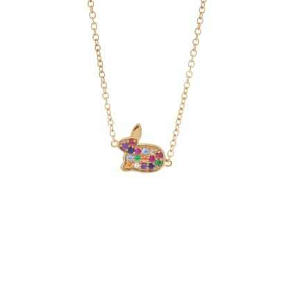 Mini Rainbow Pave Buny Necklace £525.jpg