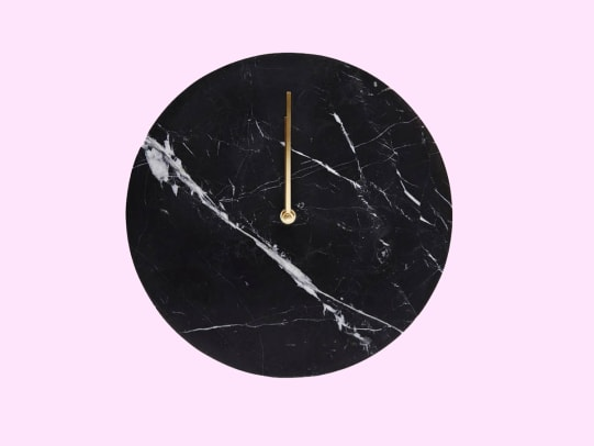 Black Marble Wall Clock with Brass Hands.jpg