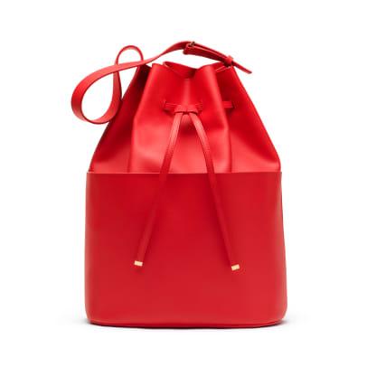 cuyana bucket bag