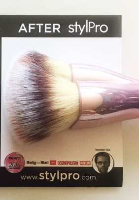 thin lizzy makeup brush cleaner