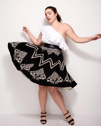 Bandana Placement Skirt