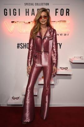 Gigi Hadid tumblr pink outfit