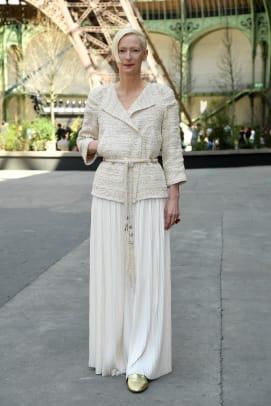 Tilda Swinton chanel haute couture