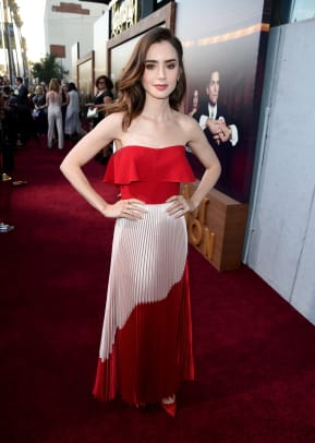 lily collins best dressed