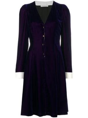 philosophy velvet dress