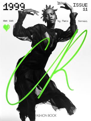 Alek Wek by Mario Sorrenti CR Fashion Book 11