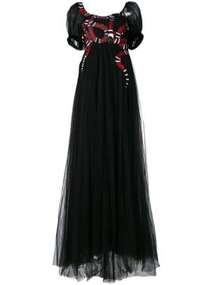 2 gucci snake dress