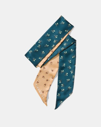 coach-floral-bow-skinny-scarf