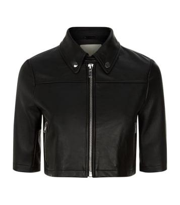 maje jacket cropped