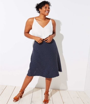 loft-plus-polka-dot-skirt